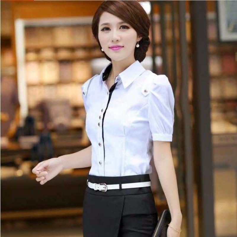 新款套装 纯棉短袖 职业套装 女装时尚