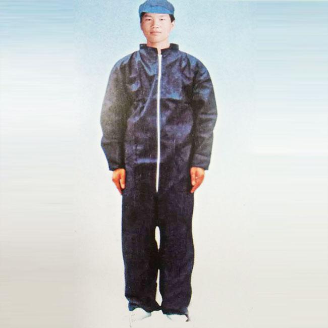 立领防护服批发 可来样定制 多种尺寸可选
