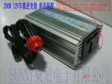 200W车载逆变器12V转220V车载电源转换器,车载笔记本电源, 带USB车载充电器