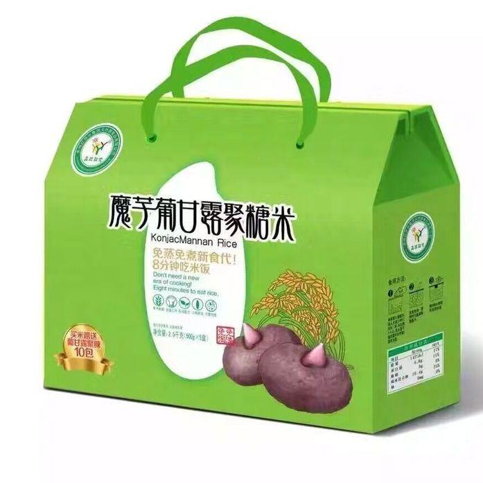 森林阳光魔芋米礼盒装