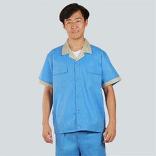 供应夏季工作服套装劳保服