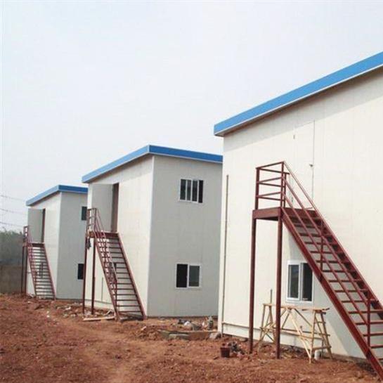 厂家现货供应可回收岩棉复合板山西阳泉彩钢活动房