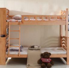 供应 特价实木儿童床上下铺进口桦木南康实木床子母床高低床厂家直销
