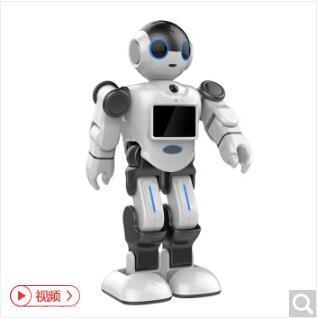 城市漫步小E 家庭智能监控全自动声控机器人聊天对话陪伴管家服务儿童早教益智机器人