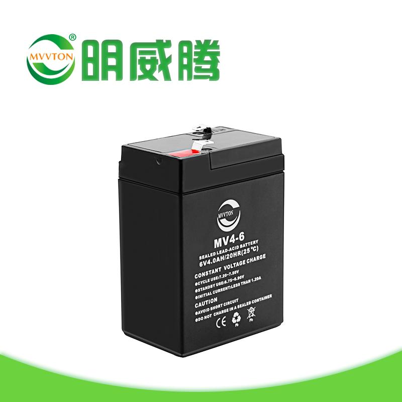 厂家批发电动车蓄电池 6V4AH 电动三轮车电瓶 免维护6v铅酸畜电池