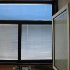 锐谷单手柄中空百叶玻璃窗 百叶窗 中玻璃内置百叶 百叶玻璃窗