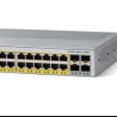 思科 Cisco WS-C2960L-24PS-LL 24口千兆POE供电 二层千兆交换机