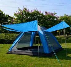 帐篷_供应棕榈滩露营帐篷3-4人自动休闲野营帐篷可防中雨出口韩国