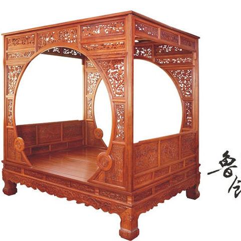 东阳刺猬紫檀 大红酸家具 黑酸枝家具 奥氏黄檀罗汉床老式八仙桌