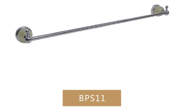 单杠毛巾架 大理石配件 卫浴挂件设备BPS11