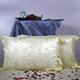 【象牙大花】依格尔 家居床品 双面提花真丝枕套 100%桑蚕丝 单只 信封款 48×74+5cm