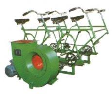 人防腳踏風機DJF-1型電動腳踏兩用風機山東格瑞德人防防護設備