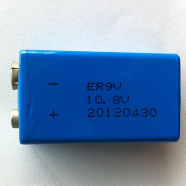 安全公用仪表 专用 华英特9v锂电池 er9v图片
