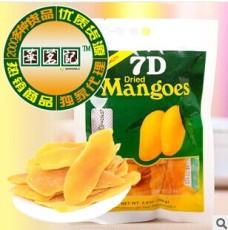 进口休闲零食品批发 菲律宾7D芒果干100g 促销价 国产带中文标