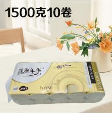 供应 厕纸卷筒纸4层原生木浆无芯卷纸