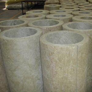 汇锦  防腐岩棉管保温  岩棉管壳生产厂家 标准防水岩棉管壳单价