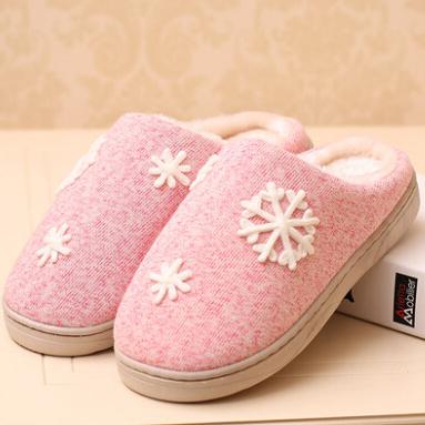 时尚品牌男女拖鞋可爱拖鞋麋鹿秋冬保暖家居鞋室内拖