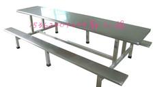 康胜不锈钢餐桌椅_耐用八人位不锈钢餐桌椅价格