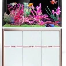 鱼缸水族箱大中型生态鱼缸玻璃创意金鱼缸带底柜