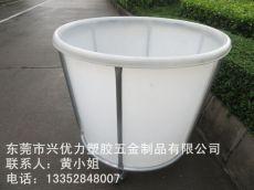 批发供应:食品级塑料圆形发酵桶 防腐蚀天台培植桶 滚塑平底养鱼圆桶