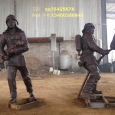 铜雕塑消防人物,人物铜雕塑,消防铜雕塑,铸铜雕塑厂,铜浮雕