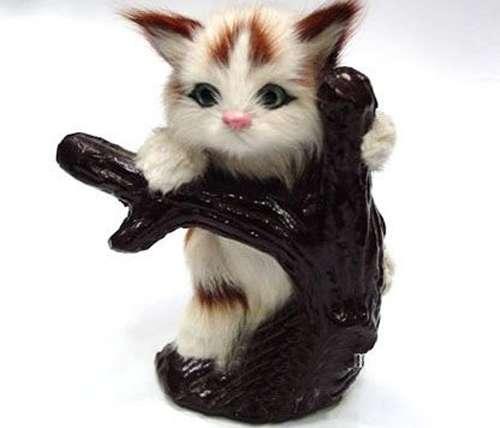 毛皮工艺品小猫咪