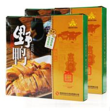 供应安庆特产礼盒包装野鸭肉质鲜嫩绿头咸鸭900g