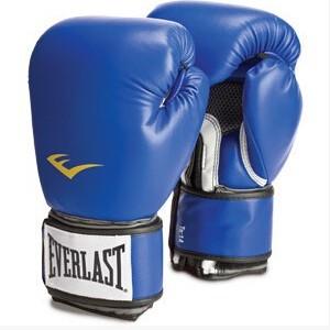 EVERLAST 真皮成型拳套 成人散打拳套专业比赛泰拳手套