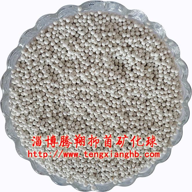 淄博腾翔食品级矿化陶瓷球  加湿器专用抗菌球  高效抑菌球