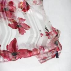 丝绸礼品丝巾缎条绡油画系列空调巾蚕丝女长款真丝丝巾防晒披肩