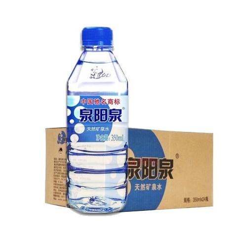 供应 长白山350ml泉阳泉弱碱性天然矿泉水低钠偏硅酸