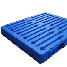 厂家直销 吹塑田字型双面新料塑料物流仓储防潮防湿周转托盘
