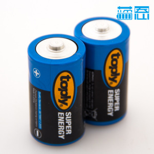 厂家直销 toply牌 1号电池 热水器用碱性电池 大号干电池 批发