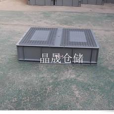蓝色EU箱生产销售   张家口市EU堆叠标准箱实拍大图 质量保证工厂直销
