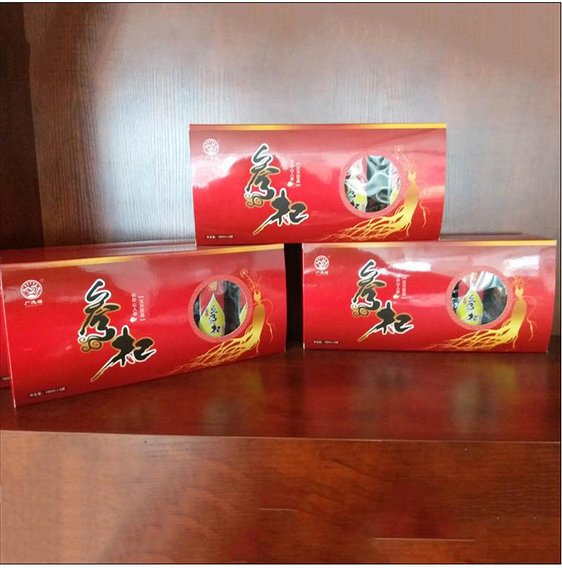 2016年抚松县广茂参业特产有限公司独家推出长白山特产人参饮料系列经典参杞功能性饮料
