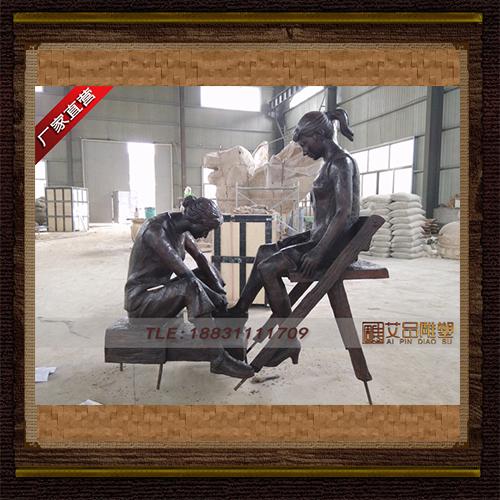 供应  园林场景铜雕  品牌雕塑 厂家直销