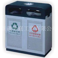 新疆鋼板垃圾桶廠家 昌吉鋼板果皮箱物美價廉 吐魯番鋼板垃圾桶防水防潮