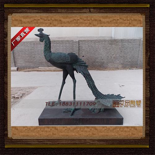 供应  铜凤凰    品牌雕塑       厂家直销