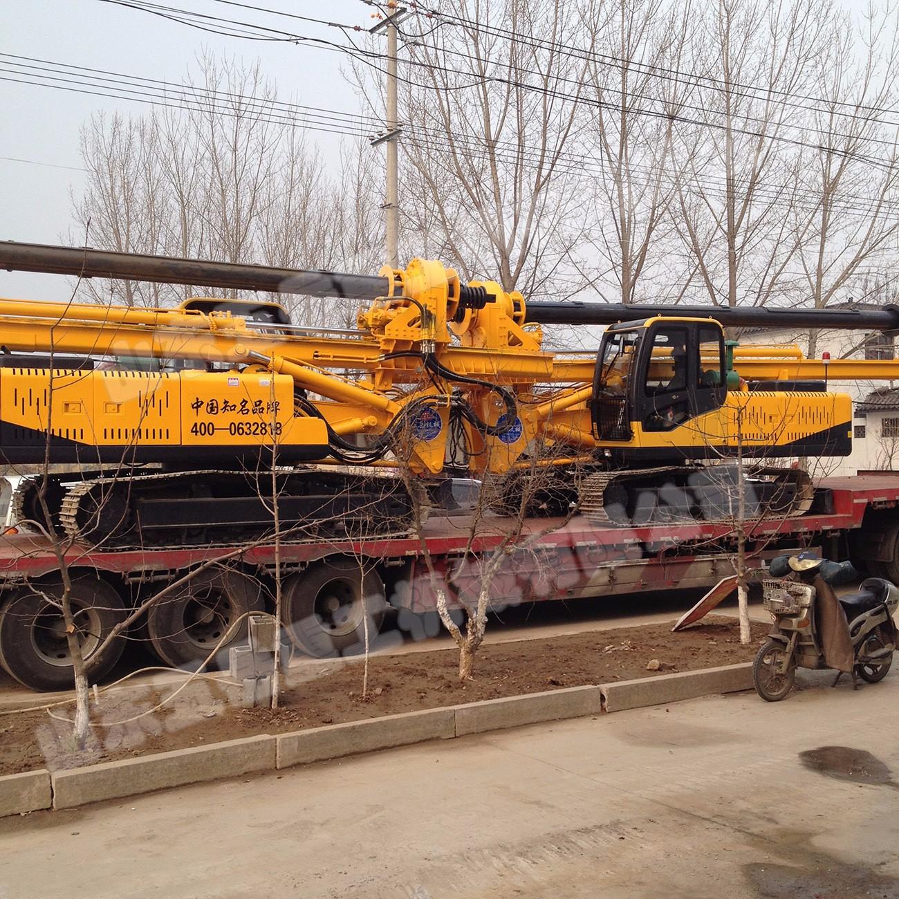 高品质旋挖钻机,五岳地基打桩机,专业生产机锁杆旋挖钻机