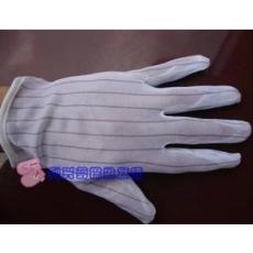 深圳现货防静电、防滑条纹手套