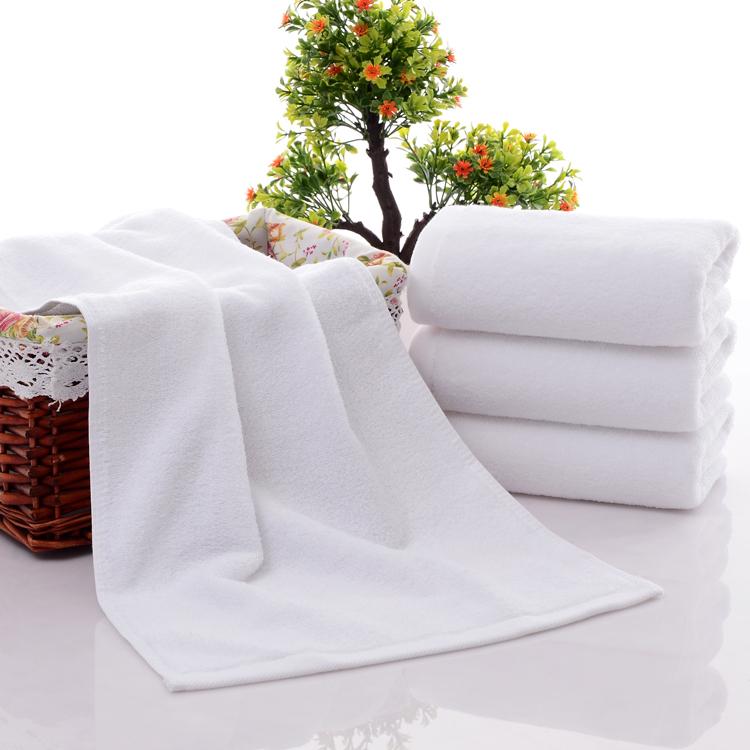 成人毛巾男女酒店宾馆白色纯棉制刷不锈钢丝图片