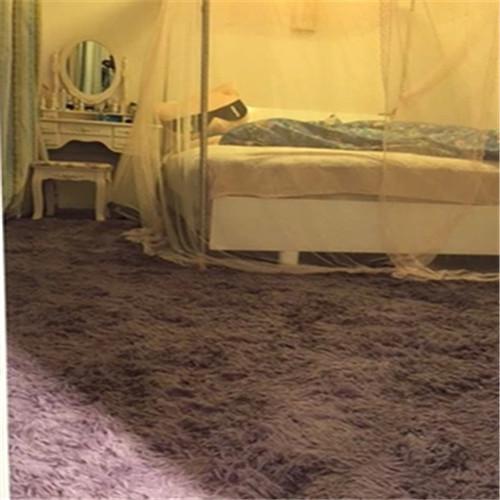 欧式丝毛加厚粉色客厅卧室茶几地毯价格–中国网库
