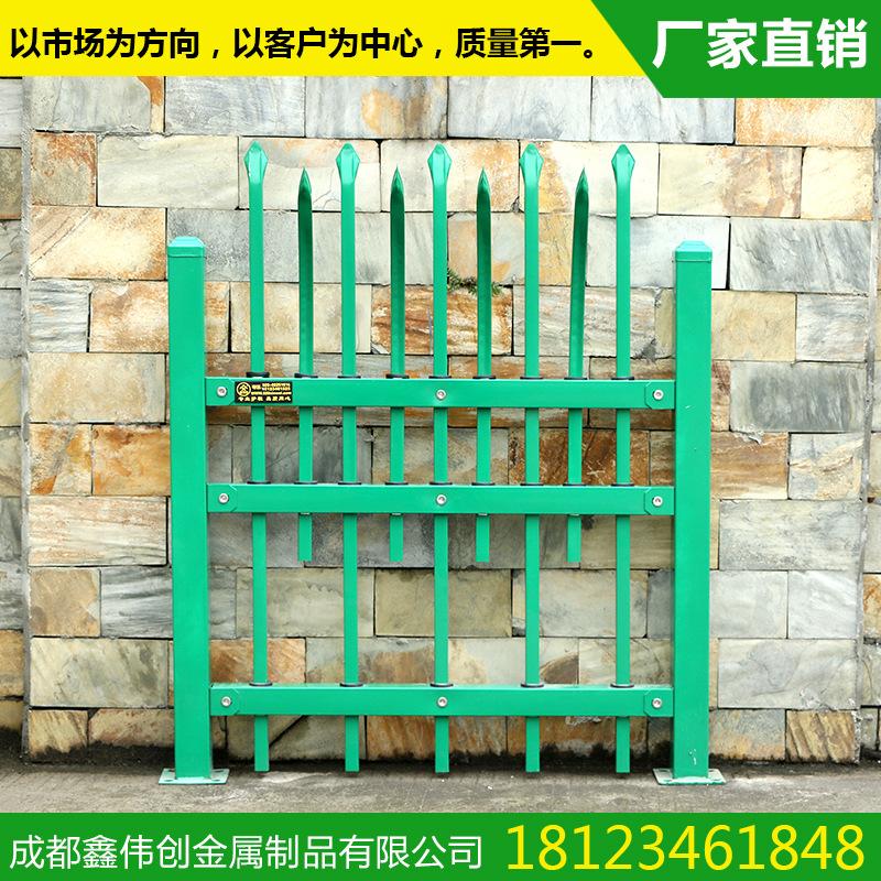 【鑫伟创】定制阳台栏杆 黄色木纹镀锌管材质 品质保证
