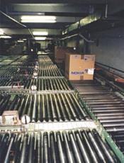 供应筒式输送机