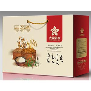 大漠荞乡大米礼盒5kg