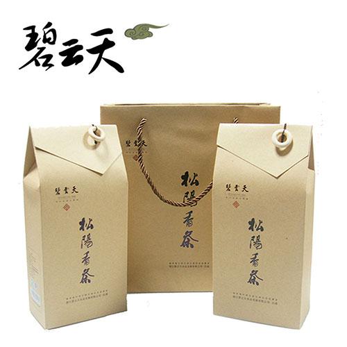 碧云天牌松阳绿茶礼盒200g/袋*2