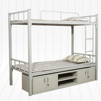 员工宿舍高低床 员工宿舍高低铁床 员工双层高低床现货供应