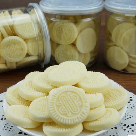 微信零食 圆形奶酪 奶片 奶饼 内蒙古特产手工零食