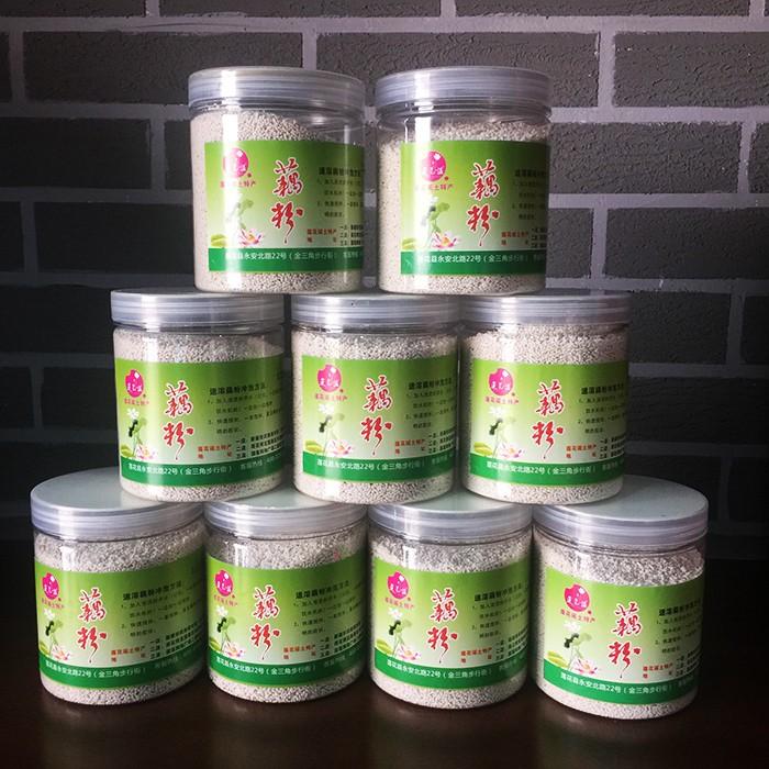 供应精选藕粉 江西莲花莲花谣特产瓶装250g 量大从优
