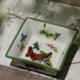 供应新中式手工彩绘陶瓷糖果干果碗家居酒店创意陶瓷小水果碗工厂直供